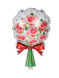 Balões Decoração Para Festas Forma Cilindrica Rose alumínio Vermelho Branco Verde Para Meninos Para Meninas 5 a 7 Anos
