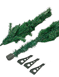 Holiday Props Christmas Party Supplies Christmas Trees Holiday Supplies Plastic Green 8 to 13 Years 14 Years & Up 210cm