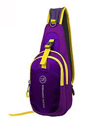 5 L Shoulder Bag Camping & Hiking Fishing Traveling Outdoor Leisure Sports Multifunctional Light Gold Nylon Terylene