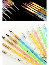 Prego Kit Art Ferramenta de Manicure 10 5