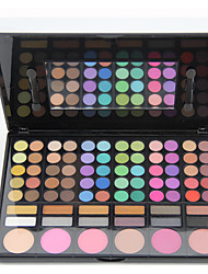 78PCS/SETS Eyeshadow Palette Eyeshadow palette Powder NormalDaily Makeup Halloween Makeup Party Makeup Fairy Makeup Cateye Makeup Smokey
