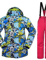 Hiking Tops Women's / Men's Waterproof / Thermal / Warm / Windproof / Insulated / Comfortable Spring / Fall/Autumn / Winter TeryleneBlue
