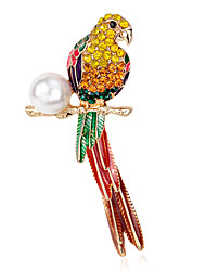 Women's Brooches Pearl Rainbow Jewelry Party Daily Casual
