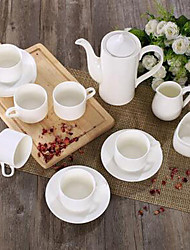 Continental 15 Ceramic Coffee Cup And Saucer Suit Tea Chinese Tea Hotel Supplies Gifts Gifts