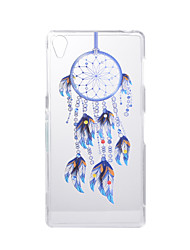 For SONY Xperia Z5 Z3 Case Cover Dream Catcher Pattern Back Cover Soft TPU