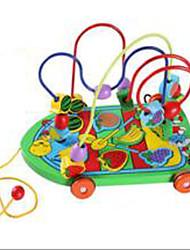 Soulage le Stress Jouet Educatif Nouveaux Jouets Jouets Nouveautés Circulaire Automatique Bois Arc-en-ciel Pour Garçons Pour Filles