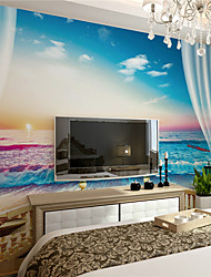 Art Decó Fondo de pantalla Para el hogar Contemporáneo Revestimiento de pared , Lienzo Material adhesiva requerida Mural , Revestimiento