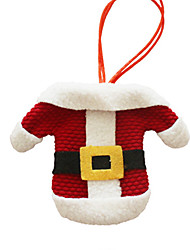 Christmas Toys / Gift Bags Holiday Supplies Santa Suits / Elk Textile Red / White All