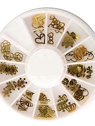 Nagel Dekoration, 50 verschiedene Formen