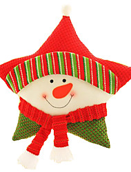Christmas Toys Holiday Supplies 3 Christmas Textile Red White Yellow