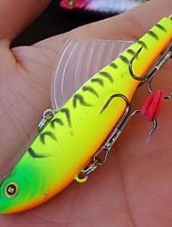 """1 pcs Isco Duro Iscas Isco Duro Cores Sortidas 14 g/1/2 5/8 Onça mm/2-5/8"""" polegada,Plástico Duro Isco de Arremesso Pesca Geral"""