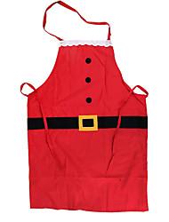 Товары для Рождественской вечеринки Товары для отпуска 2Pcs Рождество Текстиль Серебристый