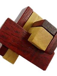 Kong Ming Lock- Spielzeuge Holz Khaki Für Jungen Für Mädchen 2 bis 4 Jahre 5 bis 7 Jahre 8 bis 13 Jahre 14 Jahre & mehr