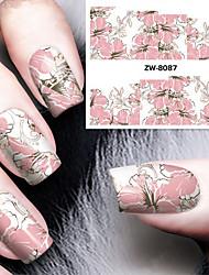 Fashion Printing Pattern Transfer Printing Nail Stickers
