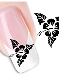 1sheet  Water Transfer Nail Art Sticker Decal XF1437