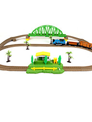Track Rail Car Train Novelty Plastic Children's Day