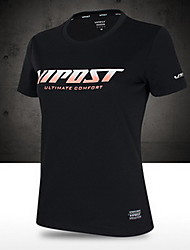 футболки мужские с коротким рукавом дышащий быстро сухой пот-затекания COOLMAX упражнения&фитнес-спортивный баскетбол футбол / футбол