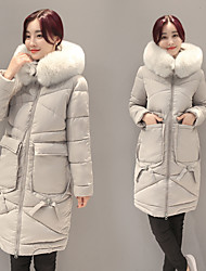 Sign 2016 winter new Korean padded jacket and long sections Nagymaros collar fashion women's coat