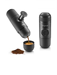 Minipresso GR by WACACO Portable Hand Held Espresso Maker Black