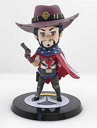 Overwatch Джесси PVC 10 Аниме Фигурки Модель игрушки игрушки куклы