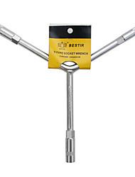 tri-chave soquete de parede fina ferramenta parafuso torque de descarga pneus chave soquete