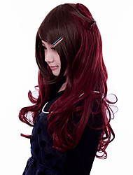 Lolita Wigs Gothic Lolita Lolita Long / Curly Red / Brown Lolita Wig 60 CM Cosplay Wigs Solid Wig For Women