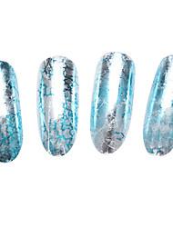 10pc Holographic Nail Foils Landscape Foils Nail Art Transfer Foil Sticker Paper Nail Wraps DIY Nail Foil Accessories(5cm*12cm)