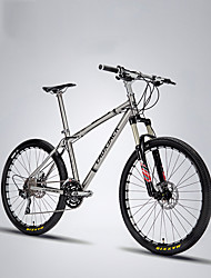 27.5 Inch Mountain Bike 30 Speeds Titanium Alloy Frame Magnesium Gas Suspension Fork SHIMANO Oil Brake