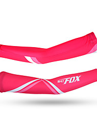 Arm Warmers Bike Thermal / Warm High Breathability (>15,001g) Protective Comfortable Unisex Pink Terylene