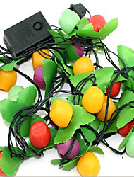 Fruit Seven Lights The Christmas Tree Decoration Meters Lamp Festive Wedding Scene Chandeliers Random Color