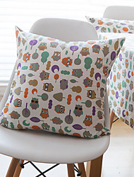 1 pc Cotton Pillow CaseAnimal Print Modern/Contemporary / Casual