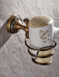 Antique Brass-Plated Finishing Wall Mounted Brass Material Electric hair dryer,Bathroom Accessory