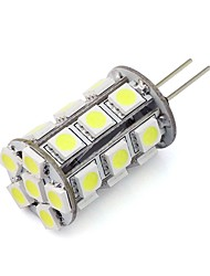 Dimmable G4 Led Bulb 24 SMD 5050 12V DC for Home Chandelier RV Cool/Warm White (1 Piece)