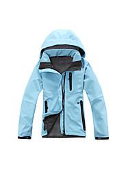 Wandern Ski/Snowboard Jacken Softshell Jacken DamenWasserdicht Atmungsaktiv warm halten Rasche Trocknung Windundurchlässig UV-resistant