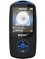 RUIZU MP3 MP3 / WMA / WAV / FLAC / APE / OGG / AAC Bateria Li-on Recarregável