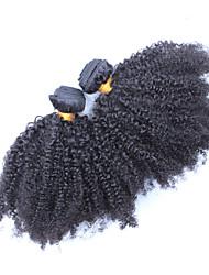 Человека ткет Волосы Монгольские волосы Kinky Curly волосы ткет