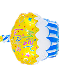 Balloons Holiday Supplies Circular Rubber Yellow For Boys / For Girls 2 to 4 Years / 5 to 7 Years / 8 to 13 Years
