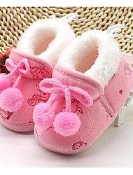 Baby Boots Comfort Cotton Casual Blue Yellow Pink