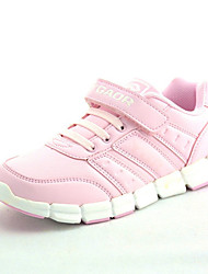 Girl's Sneakers Spring Other Comfort Leatherette Casual Magic Tape Pink