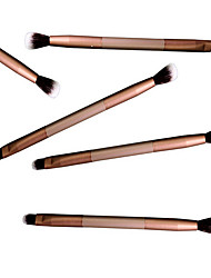 Eye Shadow Brush Makeup Brush Double Beauty Makeup Tools Colour Makeup Brush*5Pcs/sets