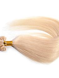 ANNA U-TIP Pre-Bonded Hair Extensions Italian Keratin Glue Fusion Silky Straight Nail Tip Hair 50g/lot (0.5g/strand)