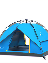 2 persons Tent Triple Automatic Tent One Room Camping TentMoistureproof/Moisture Permeability Waterproof Breathability Rain-Proof