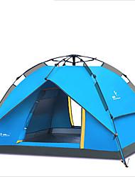2 Pessoas Tenda Triplo Tenda Automática Um Quarto Barraca de acampamentoÁ Prova de Humidade Prova de Água Respirabilidade Á