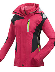 Women's Hiking Jacket Waterproof Thermal / Warm Quick Dry Windproof Ultraviolet Resistant Anti-Eradiation Breathable Full Length Visible