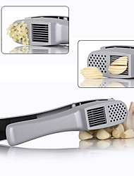 2in1 Garlic Presser Slicer Silver Cast Clip Crusher Squeezer Aluminum Kitchen Utensil Kitchen Tools