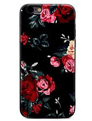 Pro iPhone X iPhone 8 iPhone 7 iPhone 7 Plus iPhone 6 Pouzdra a obaly Vzor Zadní kryt Carcasă Květiny Měkké TPU pro Apple iPhone X iPhone