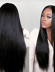 Joywigs Fashion unprocessed 100% Virgin Straight Human Hair Wig For Black Women