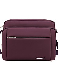 10.6 Inch Cross-version of Double-Compartment Slanting Laptop Bag CB-3005
