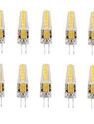 2W G4 LED a pannocchia T 10 SMD 2835 180-200 lm Bianco caldo Luce fredda V 10 pezzi