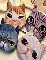 3D Cat Cartoon Purse Coin Bag Cosmetic Storage Bag Wallet Mobile Phone Bag Key Holders